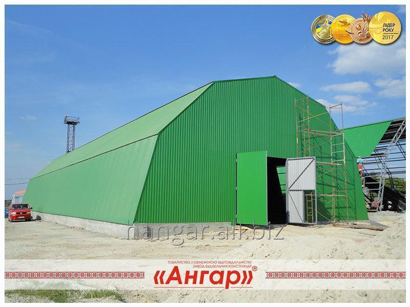 Купить Ангар быстровозводимый арочный - Выгодная альтернатива капитальному строительству!