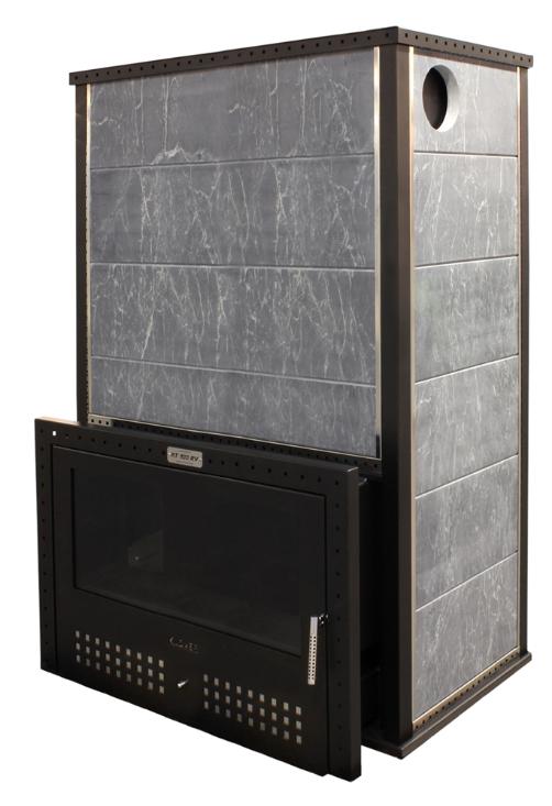 Печь для бани Klover RT 100-RV Талькомагнезит 40 мм