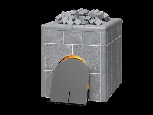 Дровяная каменка по-черному SK950