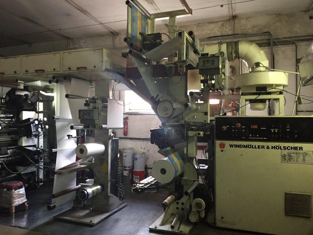 Купить Флексографическая машина W&H Soloflex 8