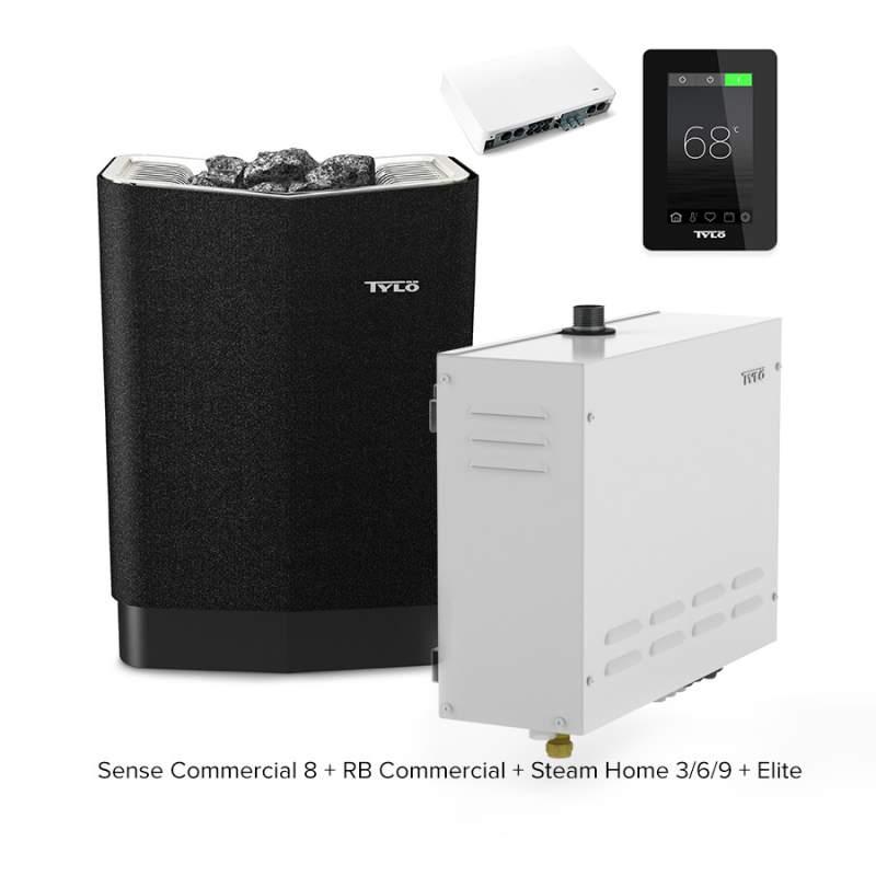 Печь для бани и сауны Tylo Sense Commercial 8 + RB Commercial + Steam Home + Elite