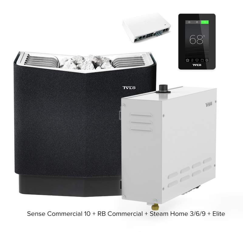 Печь для бани и сауны Tylo Sense Commercial 10 + RB Commercial + Steam Home + Elite