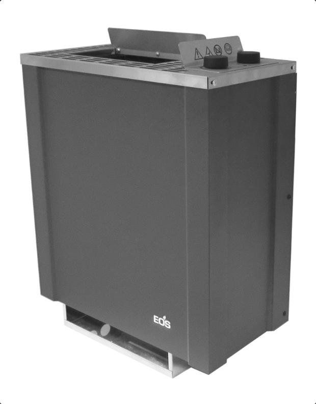 Электрическая печь для бани без парогенератора EOS Filius Control