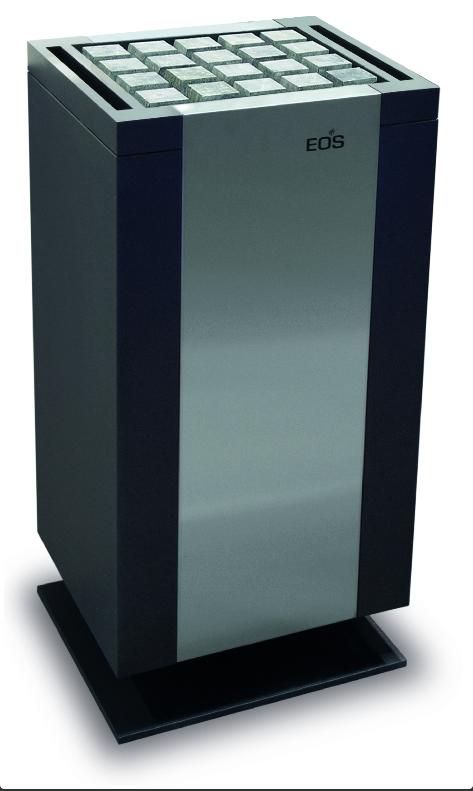 Электрическая печь для бани EOS Mythos CRS S-Line без парогенератора