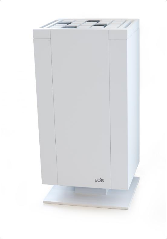 Электрическая печь для бани EOS Mythos White S-Line без парогенератора