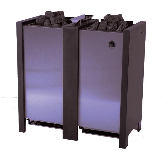 Электрическая печь для бани EOS Herkules XL S50 S-Line без парогенератора