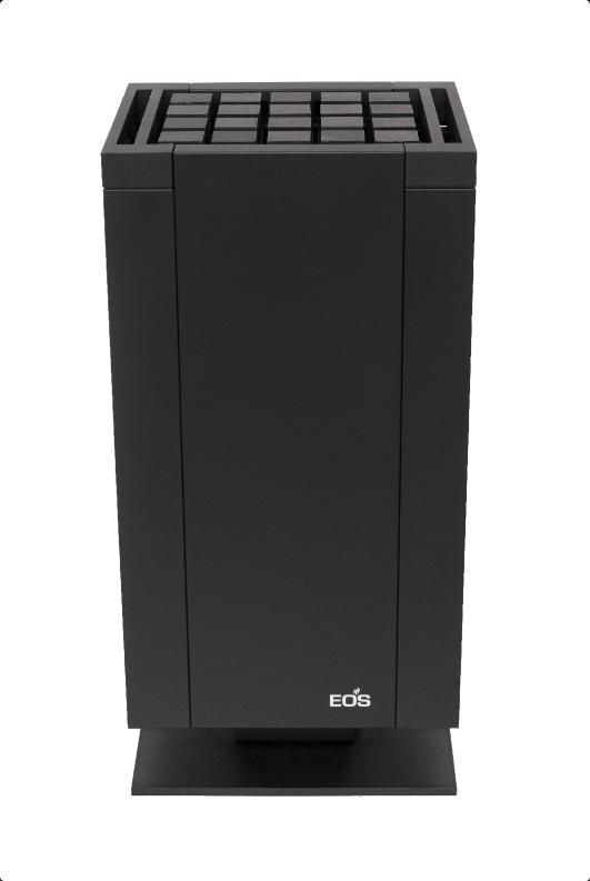 Электрическая печь для бани EOS Mythos Black Vapor S-Line c парогенератором