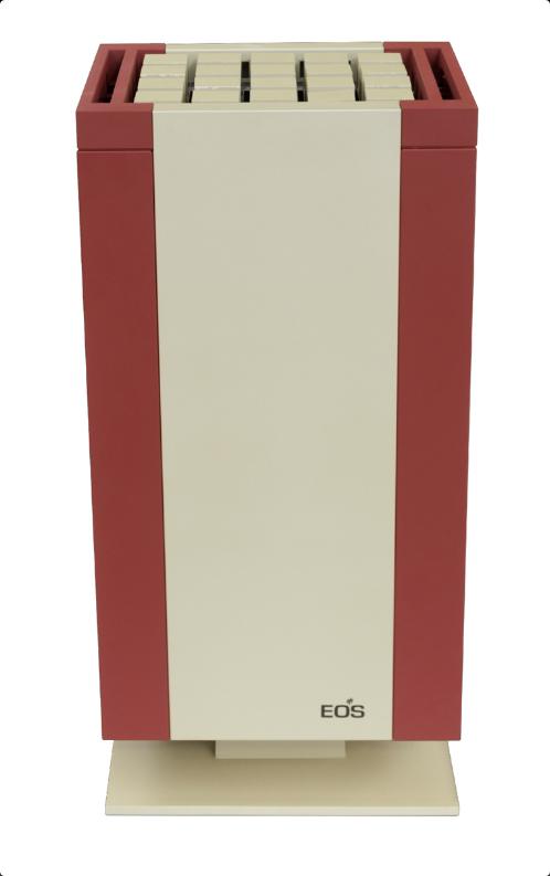 Электрическая печь для бани EOS Mythos Champagner-Rot Vapor S-Line c парогенератором