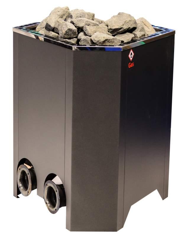 Газовая печь для бани и сауны EOS Agon