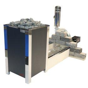 Газовая печь для бани и сауны EOS Kusaterm 10/20 кВт