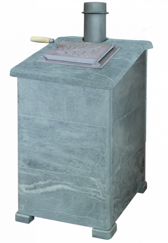 Облицовка для чугунной банной печи - ПБ-04-3К Президент талькохлорит