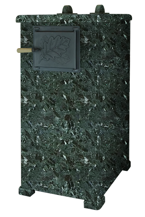 Облицовка для чугунной банной печи - Гром 40 Русский Пар 1145/50 Серпентинит