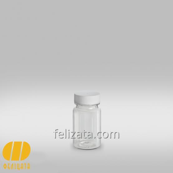 ПЭТ бутылка прозрачная 60 мл