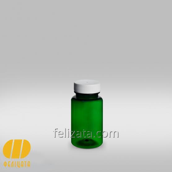 ПЭТ бутылка зеленая 75 мл