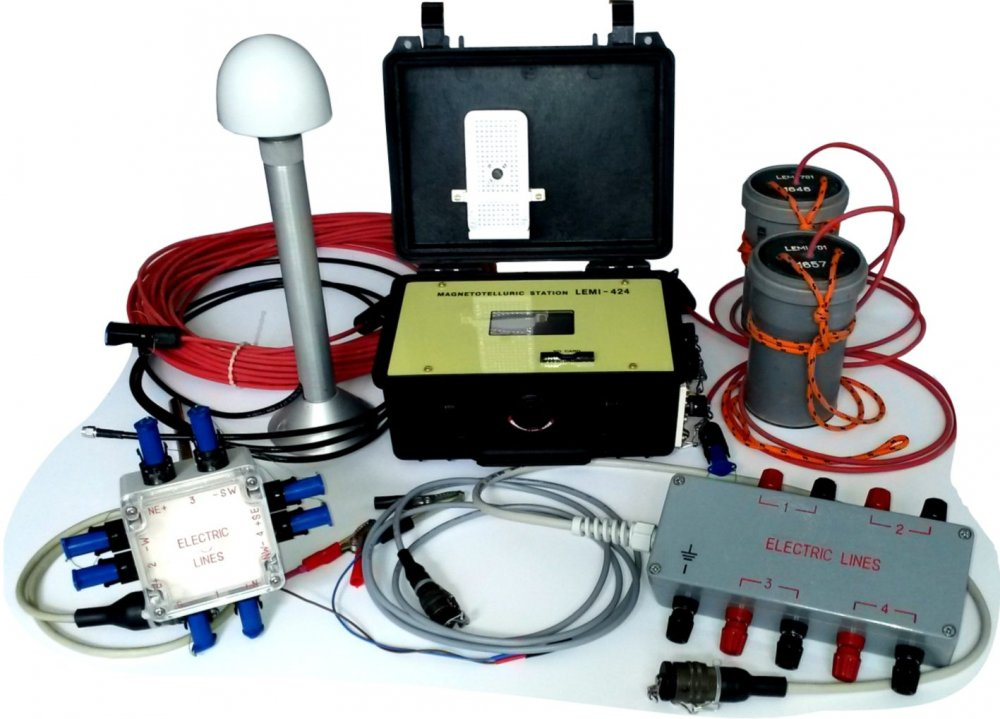 Длиннопериодная магнитотеллурическая станция (мтс) LEMI-424