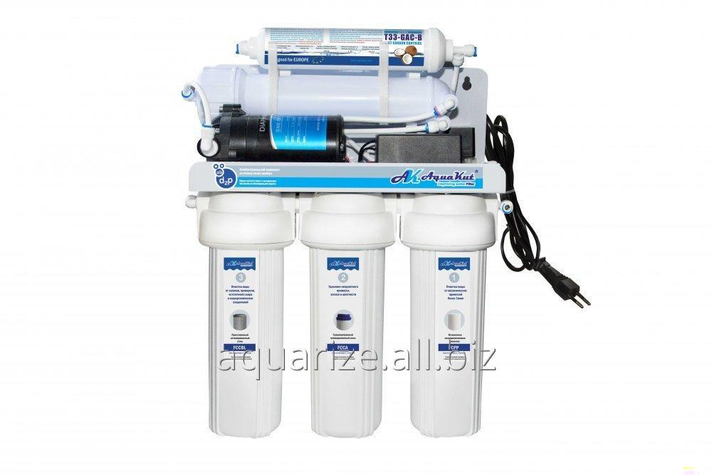 Buy Osmosis Aqua Kut with pump 50G RO-5 ARA-01 (double seals fitting in the flask and CCK).