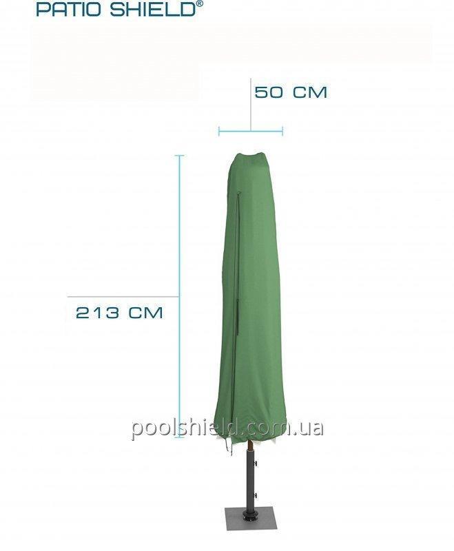 Şemsiye Avlu kalkan 220 x 50 cm için koruyucu kapak.