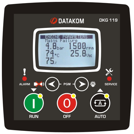 Buy DATAKOM DKG-119 manual Controller and remote control generator