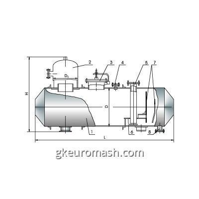 Деаэраторный бак атмосферного давления