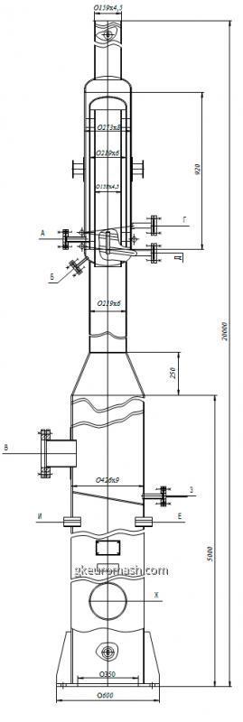 Факел для сжигания попутных газов
