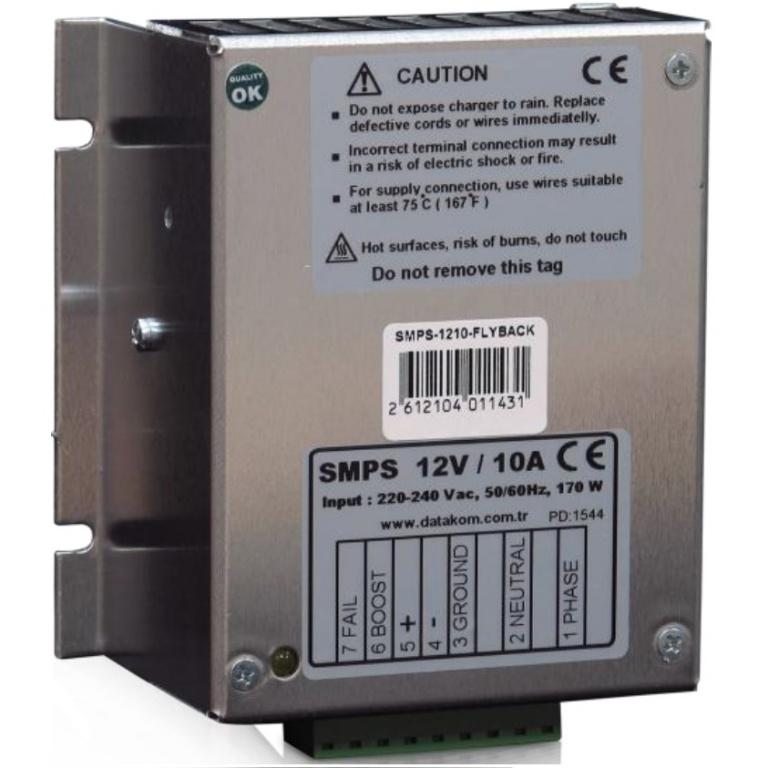 Купить DATAKOM SMPS-1210-FLYBACK Зарядное устройство аккумулятора (12V/10A)