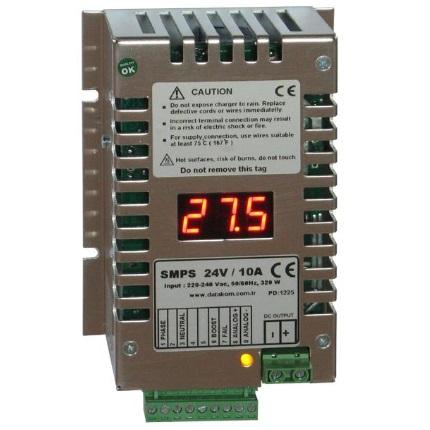 Купить DATAKOM SMPS-2410 (24V/10A) Зарядное устройство аккумулятора c дисплеем