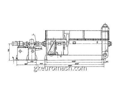 Пескоуловитель ПУ-1200