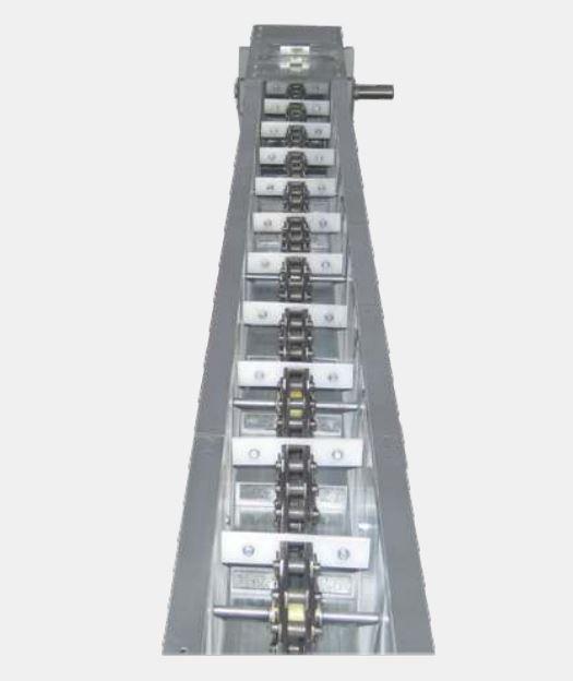 Цепной конвейер модель VCC250