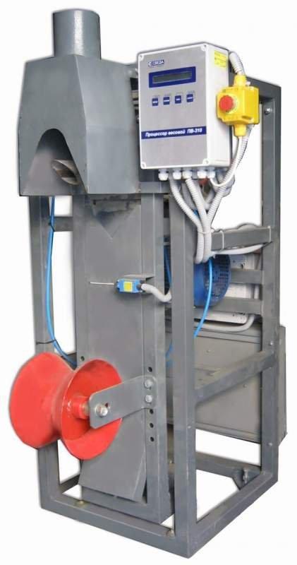 Купить Дозатор сыпучих материалов в клапанные мешки СВЕДА ДВС-301-50-6