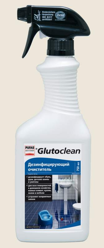 """Бытовая химия Pufas """"Дезинфицирующий спрей"""" TM Glutoclean"""