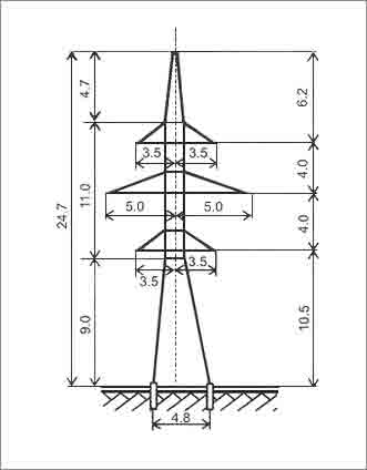Купить Анкерно-угловая опора У110-2В