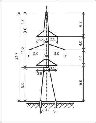 Купить Анкерно-угловая опора У110-2П