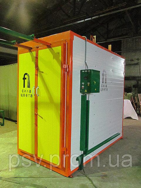 Комплект оборудования для покраски металлоизделий
