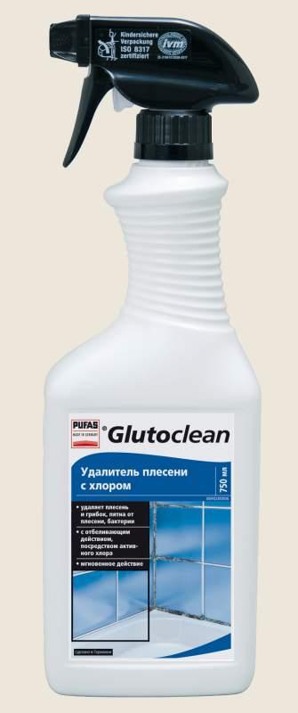 """Бытовая химия Pufas """"Удалитель плесени с хлором"""" TM Glutoclean"""