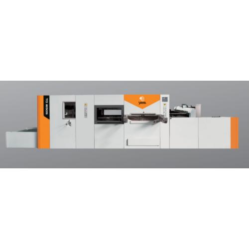 Автоматический высекальный пресс с удалением облоя Yawa TD1650S