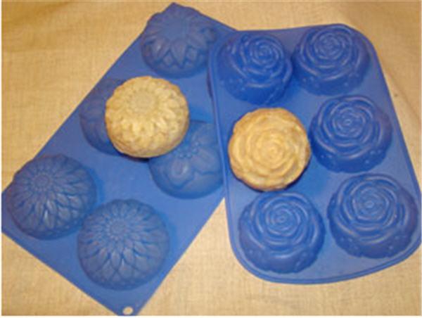 Как сделать домашнее мыло в силиконовых формочках