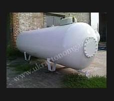 Емкость новая под газ 4,85 куб. сжиженный газ пропан LPG