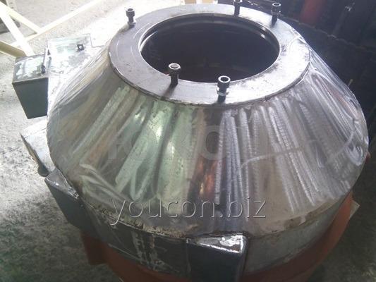 Передняя крышка гранулятора ОГМ 1.5 из нержавейки