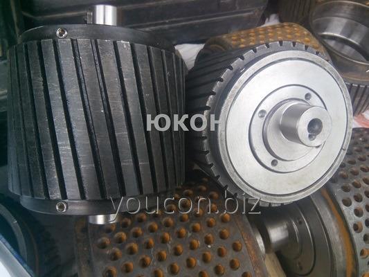 Ролик ОГМ 0,8 (прессующий валец гранулятора ОГМ-0.8)