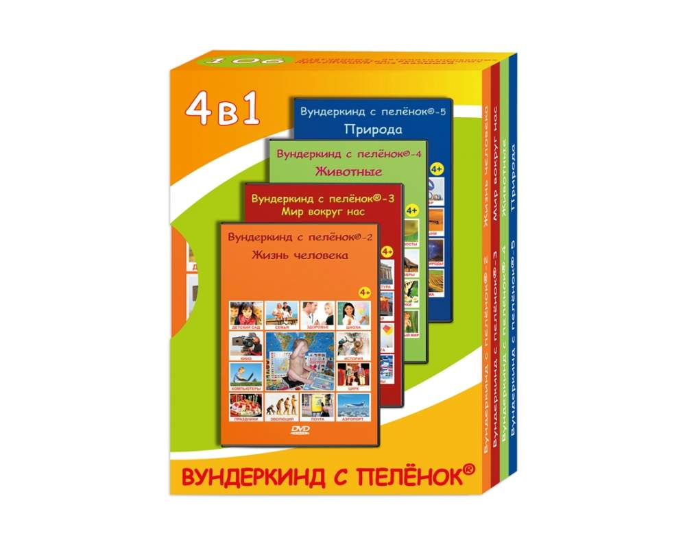 the computer disks the training programs in the russian ukrainian and english languages containing more than 200 sounded presentations on the most various and interesting subjects for display to children of