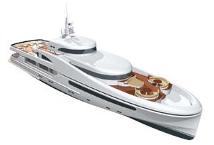 Трансатлантическая моторная яхта Терра