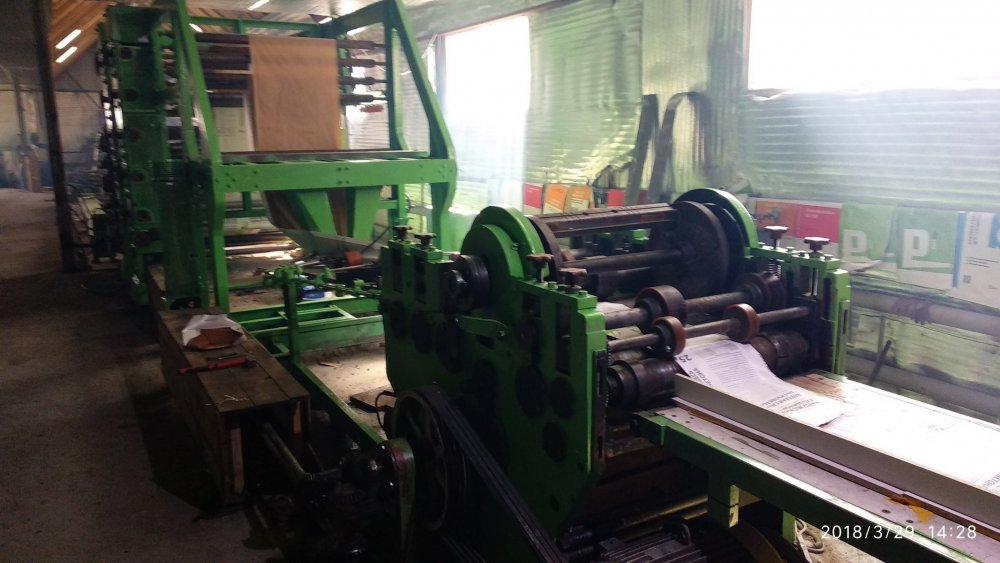 Купить Пакетоделательная машина для изготовления мешков - Windmöller & Hölscher Tuber 81-30 (рукавная линия)