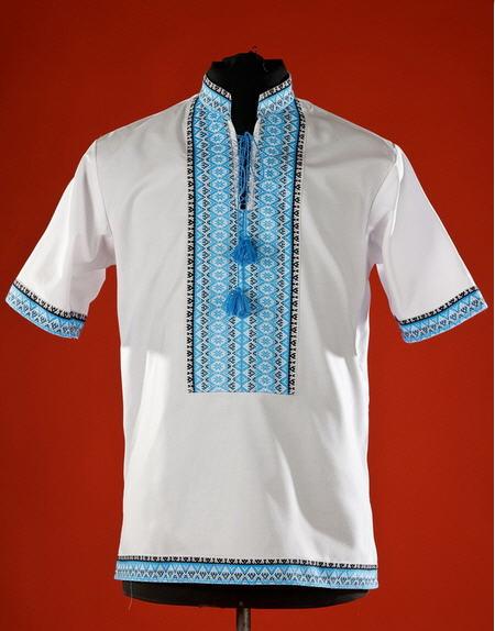 Мужская рубашка-вышиванка ЧС