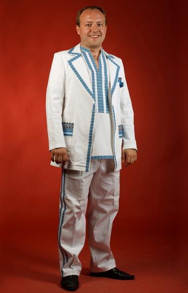 Вышитый костюм - вышиванка КХ 13 Костюмы мужские неформальные