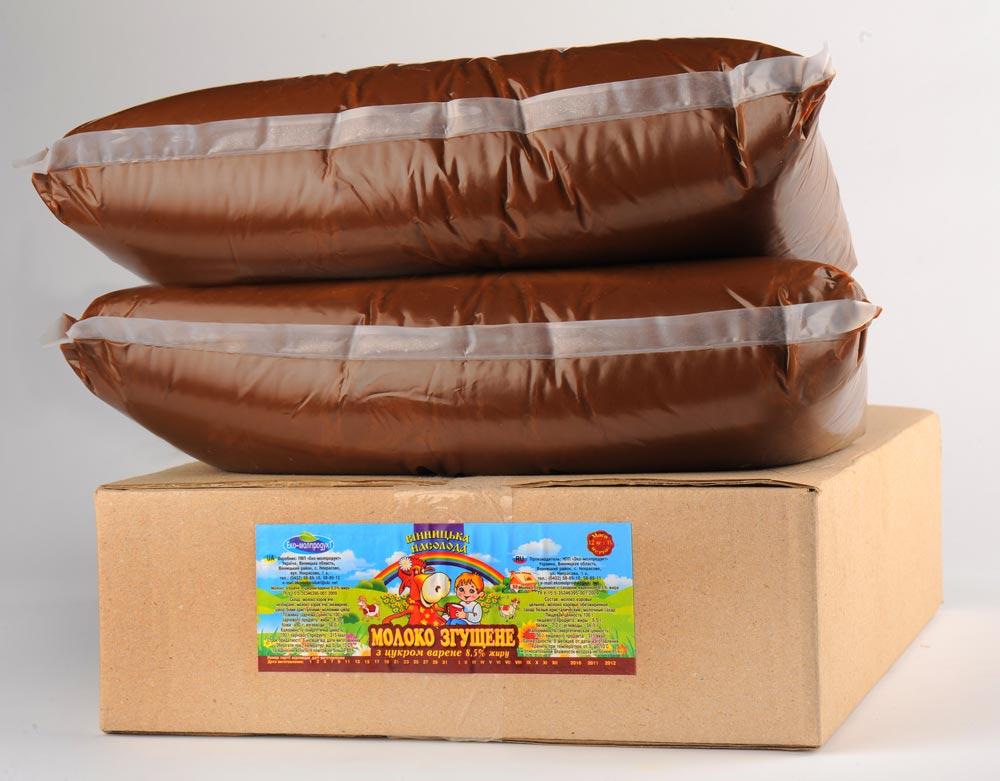Купить Сгущенка в упаковках по 12 кг