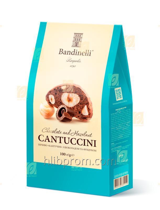 """البسكويت """"Cantuccini"""" مع الشوكولاته والبندق 100G"""