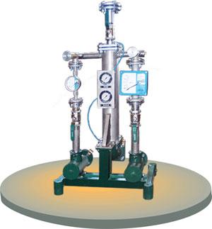 Купить Установка смесевых биотоплив УСБ-18/3 - предназначена для смешивания от двух до трех отдельных составных частей, в частности дизельного топлива с биодизелем и стабилизирующими присадками, приготовления многокомпонентных смесевых моторных топлив