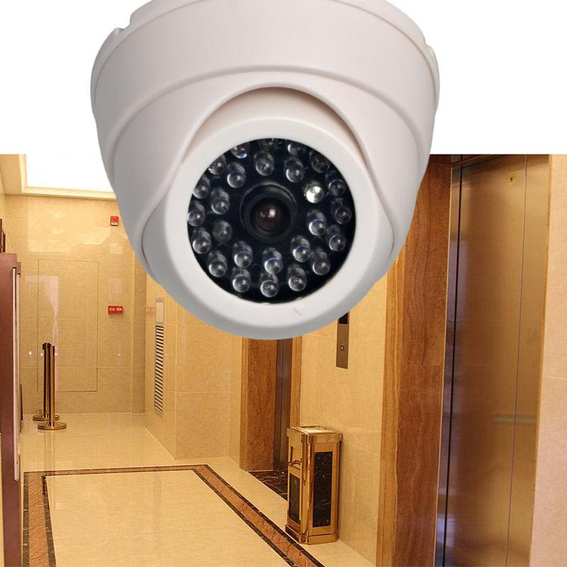 Поддельная купольная камера видеонаблюдения-(мигающий светодиод)