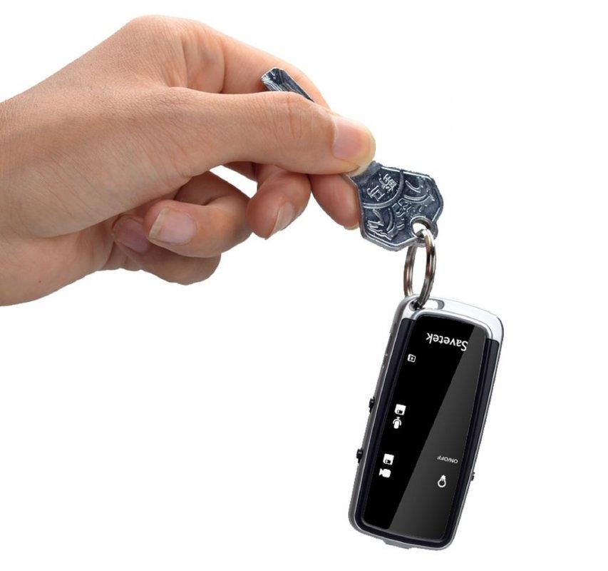 Портативная мини видеокамера-брелок (диктофон-видеорегистратор).