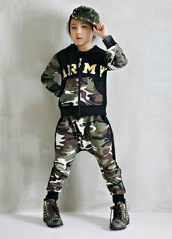 Детские спортивные костюмы-(АРМИЯ хип-хоп).